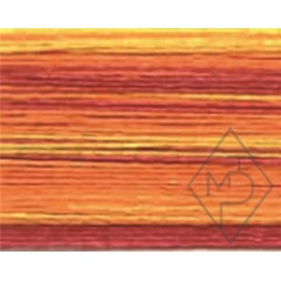 FIL MULTICOLORE POLYESTER-COL.107-ORANGE/ROUGE- x 6 BOB. de 150 M
