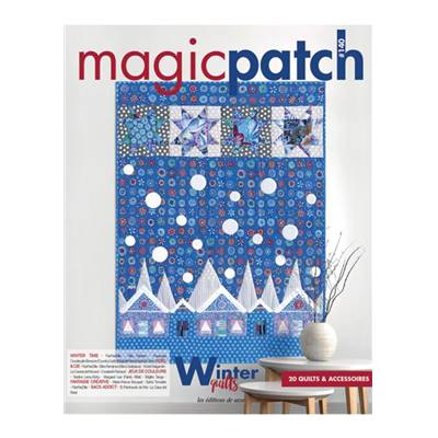 MAGIC PATCH N° 140 - WINTER QUILTS - 20 QUILTS & ACCESSOIRES