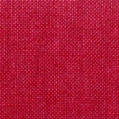 COUPON 45 X 45CM LIN 12 FILS ROUGE