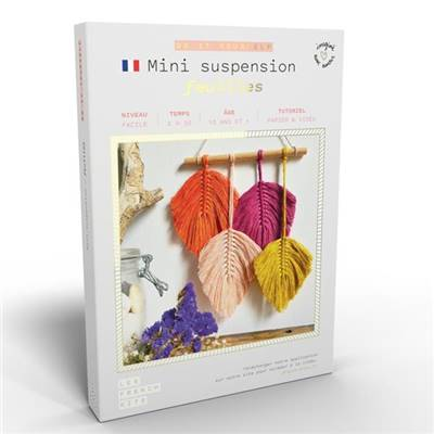 FRENCH KITS - DIY - MINI-SUSPENSION - FEUILLES