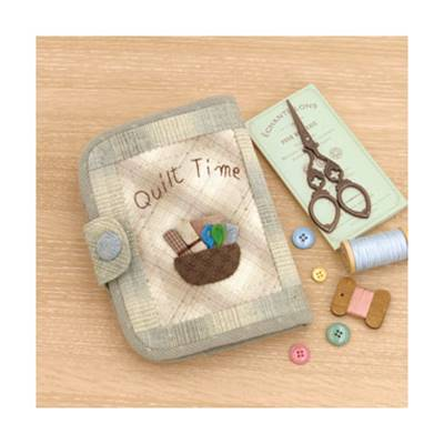 KIT OLYMPUS SAC TROUSSE COUTURE QUILT TIME 19 X 15 CM