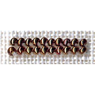 PERLES N° 2501 CUIVRE ANTIQUE 2.5 gr- minimum 3 sachets