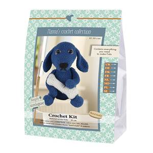 KIT CROCHET HELMUT & FRIENDS COLLECTION - FIDO - 18 CM