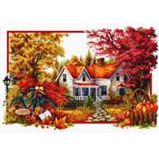 NO COUNT CROSS STITCH - L'ARRIVEE DE L'AUTOMNE