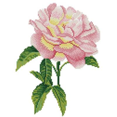 KIT BRODERIE DIAMANT - PINK ROSE