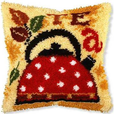 KIT COUSSIN POINT NOUE 40 X 40 CM - TEA