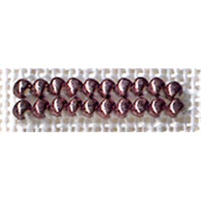 PERLES N° 2509 MARRON GLACE ANTIQUE 2.5 gr- minimum 3 sachets