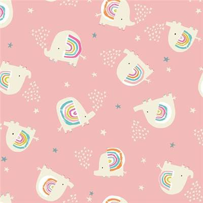 TISSU DASHWOOD STUDIO - RAINBOW FRIENDS 1791 - COTON - 110CM