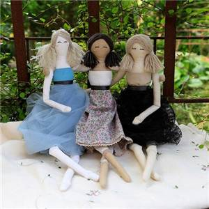 PRESENTOIR KITS COUTURE DOLL FABRIC COLLECTION - 9 ASSORTIS