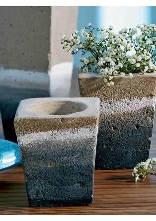 comment fabriquer des objets en beton finest diy comment fabriquer un grand pot de bton with. Black Bedroom Furniture Sets. Home Design Ideas