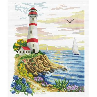 NO COUNT CROSS STITCH - LIGHTHOUSE CAPE