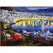 NO COUNT CROSS STITCH - LE PORT DE NUIT