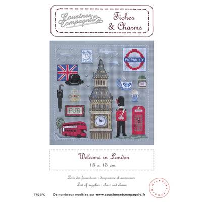 WELCOME IN LONDON - SEMI-KIT FICHES & CHARMS