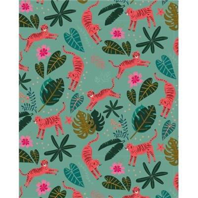 TISSU DASHWOOD - NIGHT JUNGLE 1645 - COTON - 110 CM - mini 5 m