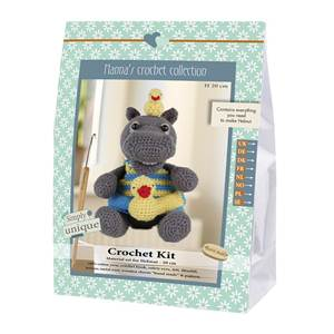 KIT CROCHET HELMUT & FRIENDS COLLECTION - HELMUT - 20 CM