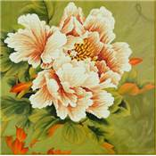 NO COUNT CROSS STITCH - PIVOINE N°1