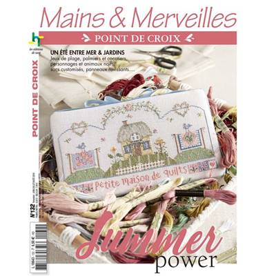SUMMER POWER - MAINS ET MERVEILLES POINT DE CROIX N°132
