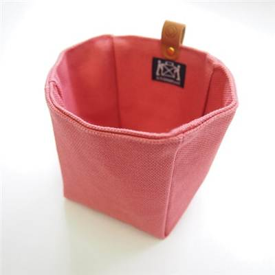 MINI SAC DECORATIF ROSE 100% COTON  - artisanat japonais