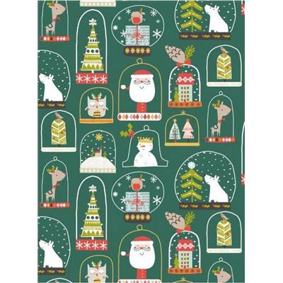 TISSU DASHWOOD -CHRISTMAS PARTY 1525 - COTON - 110 CM - mini 5 m