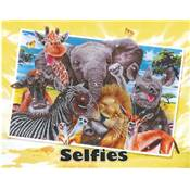 KIT BRODERIE DIAMANT - SELFIES ANIMAUX DE LA SAVANE