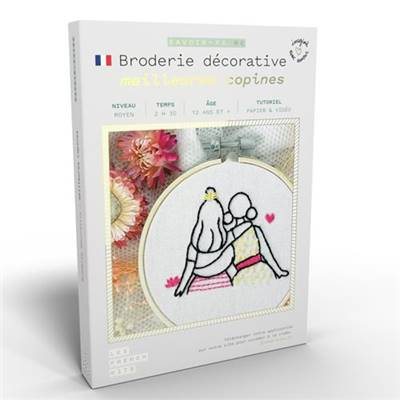 FRENCH KITS - BRODERIE DÉCORATIVE - MEILLEURES COPINES