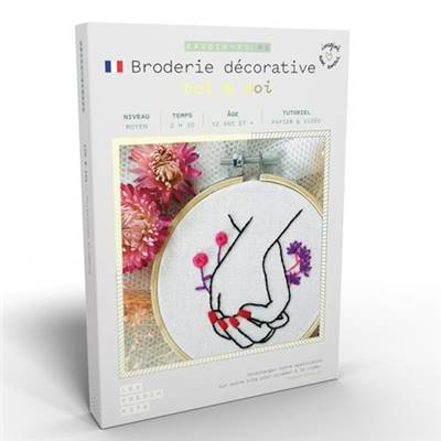 FRENCH KITS - BRODERIE DÉCORATIVE - TOI & MOI
