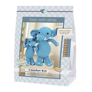 KIT CROCHET EMILY & FRIENDS COLLECTION - SARA & SIMBA 18 & 10 CM