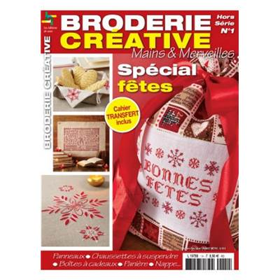 BRODERIE CREATIVE HS 1 - SPECIAL FETES
