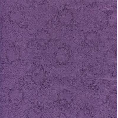 TISSU DUTCH HERITAGE 100% COTON POURPRE - minimum 5 m