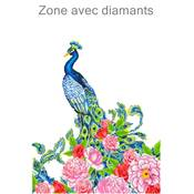 KIT BRODERIE DIAMANT - LE PAON EXOTIQUE