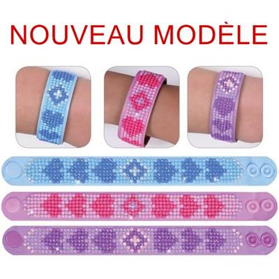 KIT BRODERIE DIAMANT - LOT 3 BRACELETS LOVE