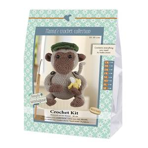 KIT CROCHET HELMUT & FRIENDS COLLECTION - JIMMI - 18 CM