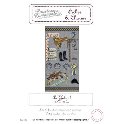 AU GALOP ! - SEMI-KIT FICHES & CHARMS
