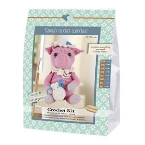 KIT CROCHET HELMUT & FRIENDS COLLECTION - HILLARY - 20 CM