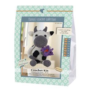KIT CROCHET HELMUT & FRIENDS COLLECTION - DORTE - 20 CM