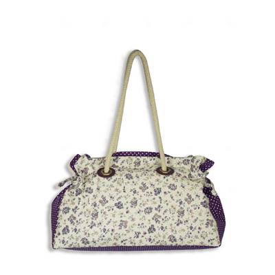 KIT ABC COLLECTION SAC BOTTINES VIOLET