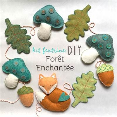 KIT FEUTRINE FORET ENCHANTEE