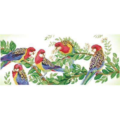 KIT BRODERIE DIAMANT - EASTERN ROSELLA GATHERING