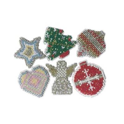 LOT 6 DECORATIONS VIERGES DIAMOND DOTZ + RUBAN + ALPHABET + 6 MOTIFS
