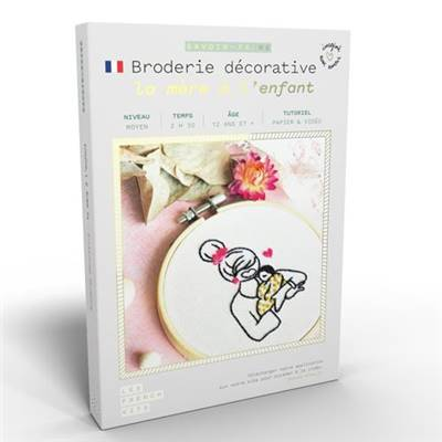 FRENCH KITS - BRODERIE DÉCORATIVE - LA MERE & L'ENFANT