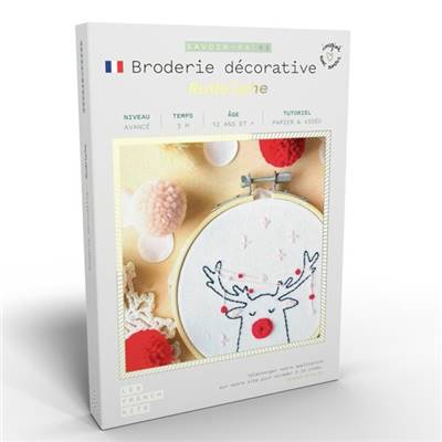 FRENCH KITS - BRODERIE DÉCORATIVE - RUDOLPHE