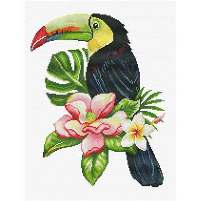 NO COUNT CROSS STITCH - TOUCAN