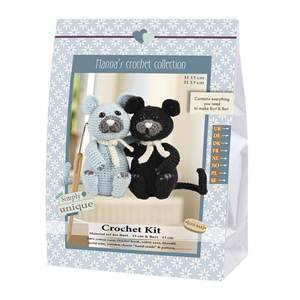 KIT CROCHET EMILY & FRIENDS COLLECTION - BURT & BART 13 & 13 CM