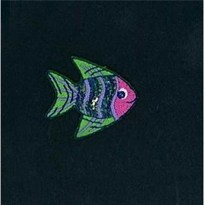 MOTIFS THERMOCOLLANTS - POISSON MULTICOLOR - LE LOT DE 3