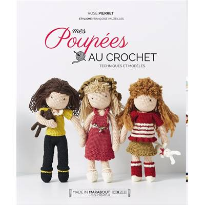 MES POUPEES AU CROCHET - ROSE PIERRET