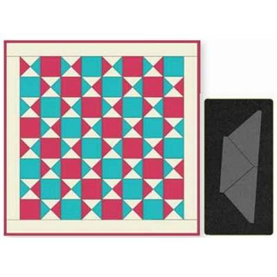 QUARTER SQUARE 4 1/2'' FINISHED TRIANGLE