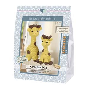 KIT CROCHET EMILY & FRIENDS COLLECTION - JULIA & LOTTA 20 & 15 CM