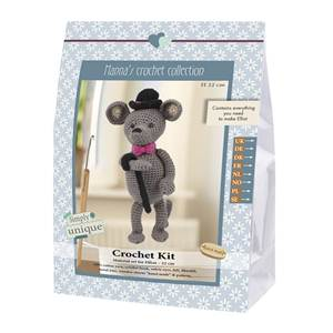 KIT CROCHET EMILY & FRIENDS COLLECTION - ELLIOT - 19 CM