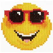 KIT BRODERIE DIAMANT - SMILING FACE