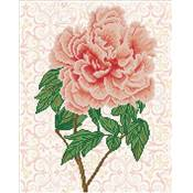 KIT BRODERIE DIAMANT - LA ROSE FLAMBOYANTE